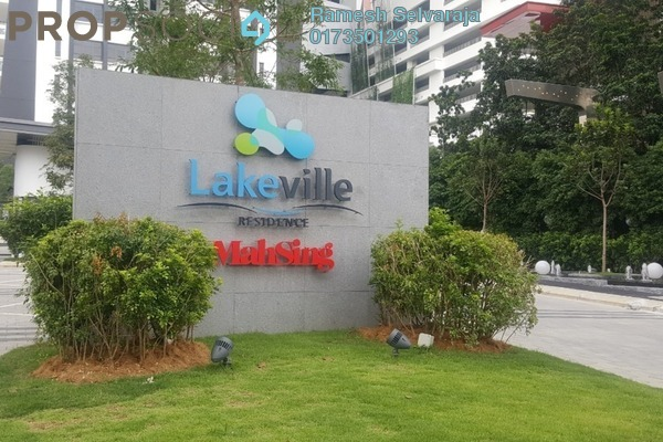 For Sale Condominium at Lakeville Residence, Jalan Ipoh Freehold Semi Furnished 3R/2B 770k