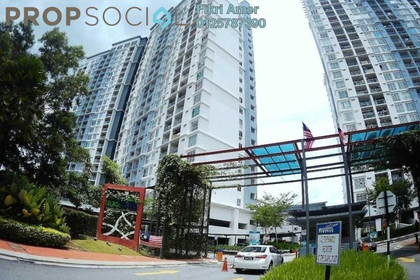 For Sale Condominium at Suasana Lumayan, Bandar Sri Permaisuri Leasehold Unfurnished 4R/2B 519k