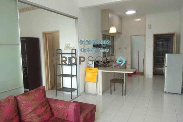 For Rent Condominium at Casa Tiara, Subang Jaya Freehold Fully Furnished 1R/1B 1.5k