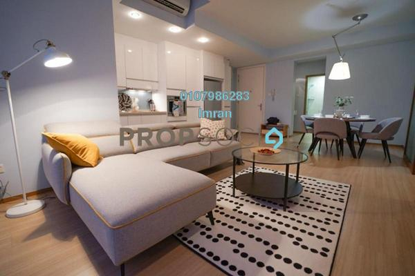 For Rent Serviced Residence at VERVE Suites, Mont Kiara Freehold Fully Furnished 2R/2B 3.5k