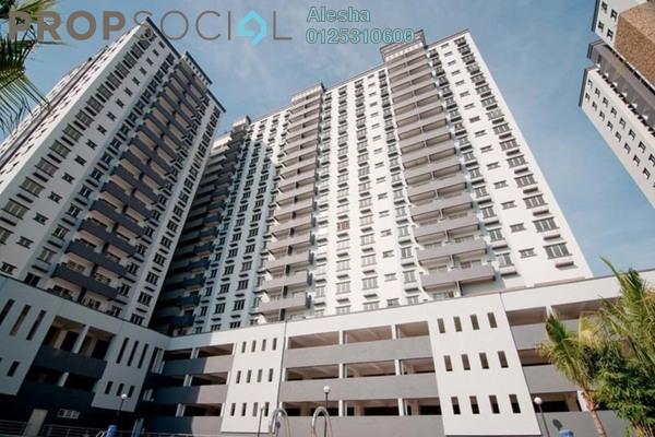 For Sale Apartment at Kinrara Mas, Bukit Jalil Freehold Unfurnished 0R/0B 313k