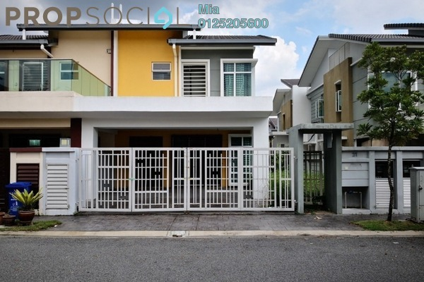 For Sale Semi-Detached at Kemuning Greenhills, Kota Kemuning Freehold Unfurnished 0R/0B 640k
