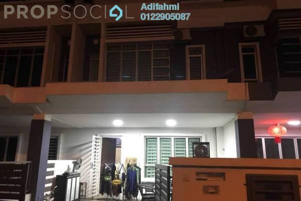 For Sale Terrace at Setia Indah, Setia Alam Freehold Semi Furnished 5R/4B 660k