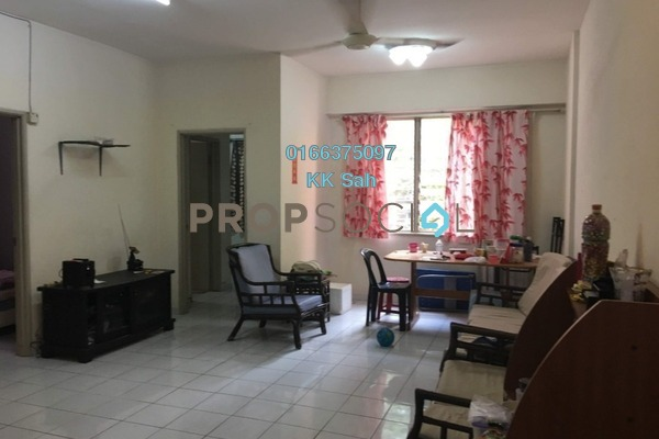 For Sale Condominium at Garden Park, Bandar Sungai Long Freehold Semi Furnished 3R/2B 268k