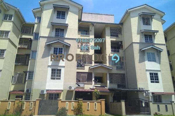 For Sale Apartment at Kasuarina Apartment, Klang Freehold Semi Furnished 3R/2B 195k