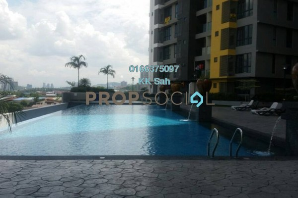 For Sale Condominium at Silk Sky, Balakong Freehold Unfurnished 3R/2B 538k