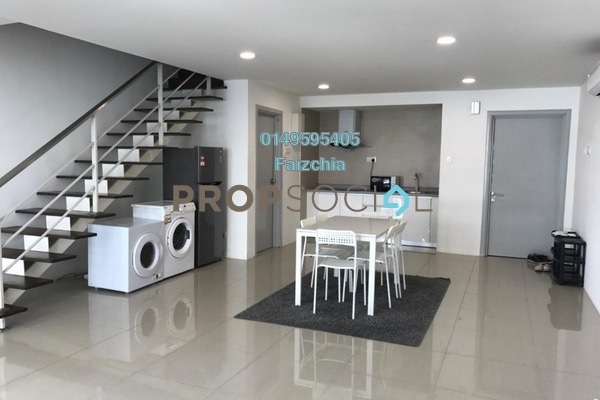 For Rent Serviced Residence at Arte SW, Shah Alam Freehold Semi Furnished 2R/2B 2k
