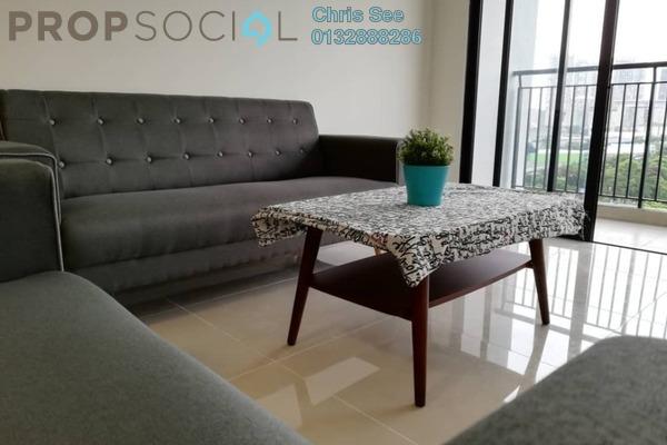 For Rent Condominium at Ken Rimba, Shah Alam Freehold Semi Furnished 3R/2B 1.6k