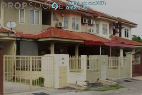 For Sale Terrace at Taman Puchong Utama, Puchong Freehold Semi Furnished 3R/3B 550k