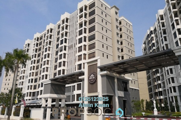 For Rent Condominium at Upper East @ Tiger Lane, Ipoh Freehold Unfurnished 3R/2B 1.6k