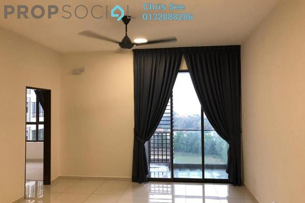 For Rent Condominium at Suria Putra, Bukit Rahman Putra Freehold Semi Furnished 2R/2B 1.3k