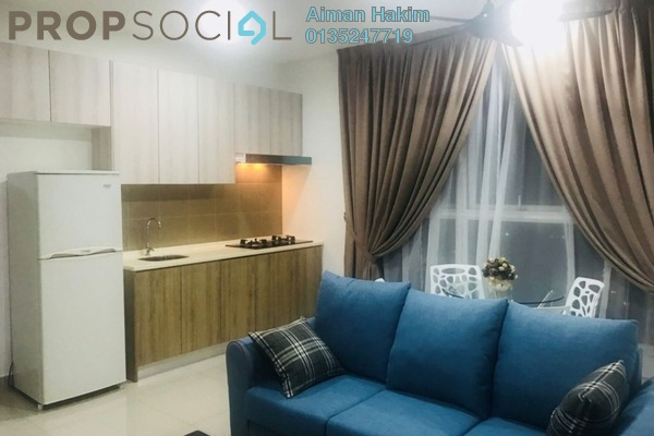 For Rent Condominium at Mutiara Ville, Cyberjaya Freehold Fully Furnished 1R/1B 1.25k