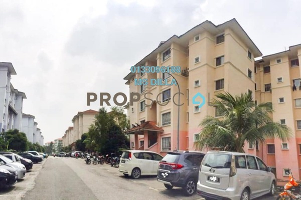 For Sale Apartment at Bandar Puncak Alam, Kuala Selangor Leasehold Semi Furnished 3R/2B 149k