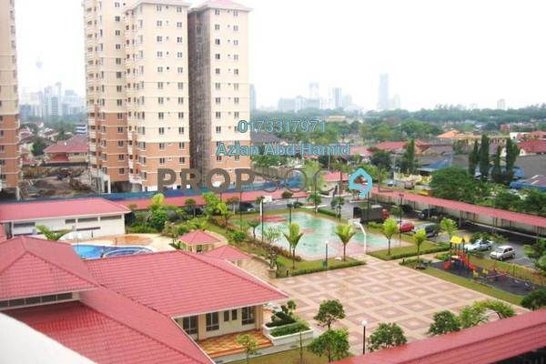 For Sale Condominium at Pertiwi Indah, Cheras Freehold Semi Furnished 3R/2B 550k