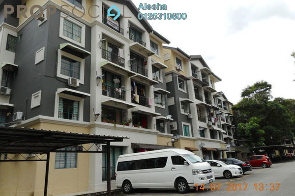 For Sale Apartment at SD Apartments, Bandar Sri Damansara Freehold Unfurnished 0R/0B 300k