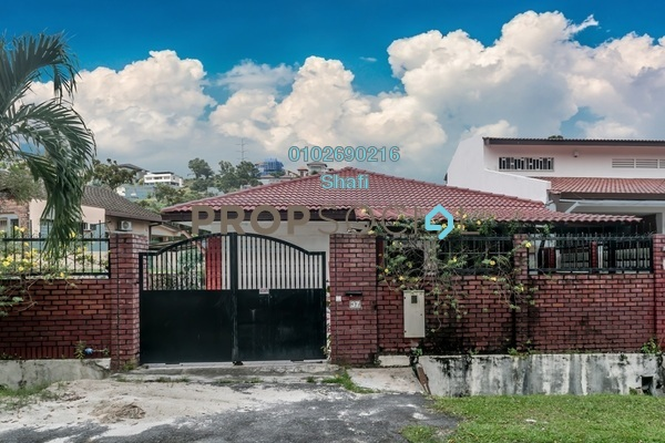 For Sale Bungalow at Jalan Bangsar, Kuala Lumpur Freehold Semi Furnished 3R/4B 4.5m