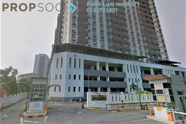 For Sale Condominium at Kinrara Mas, Bukit Jalil Freehold Semi Furnished 3R/2B 520k