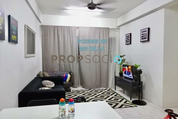 For Sale Apartment at Amazing Heights, Klang Freehold Fully Furnished 3R/2B 230k