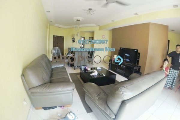 For Sale Condominium at Villa Wangsamas, Wangsa Maju Freehold Unfurnished 3R/2B 530k