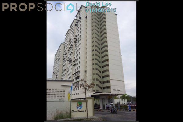 For Sale Apartment at Desa Pinang 2, Jelutong Freehold Semi Furnished 2R/1B 170k