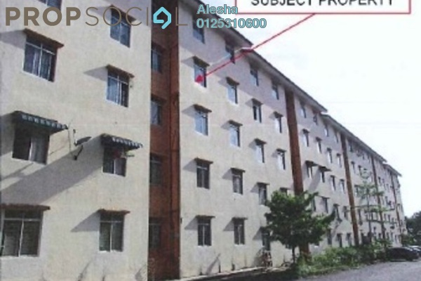 For Sale Apartment at Taman Mount Austin, Tebrau Freehold Unfurnished 0R/0B 100k
