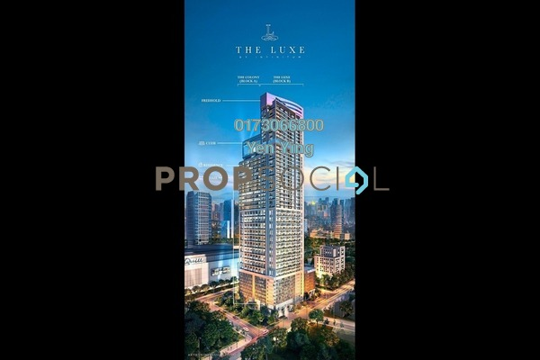 For Sale Serviced Residence at The Luxe by Infinitum, Kuala Lumpur Freehold Fully Furnished 1R/2B 940k