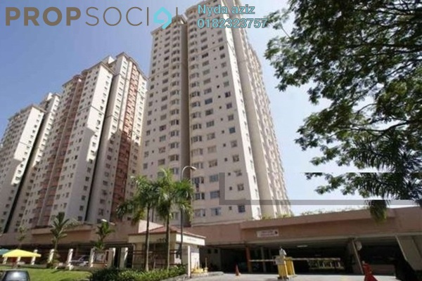 For Rent Apartment at Mawar Apartment, Sentul Freehold Semi Furnished 3R/2B 1.5k