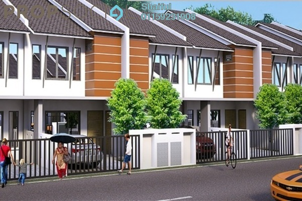 For Sale Terrace at Section 30, Shah Alam Freehold Unfurnished 4R/4B 541k