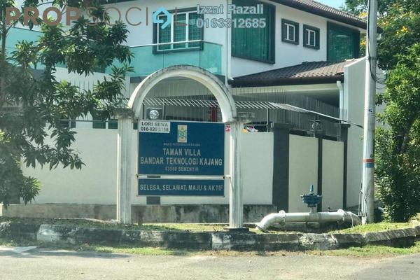 For Rent Terrace at Bandar Teknologi Kajang, Semenyih Freehold Semi Furnished 4R/3B 1.3k