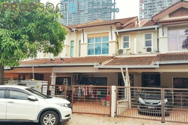 For Sale Terrace at Section 7, Shah Alam Leasehold Semi Furnished 4R/3B 600k