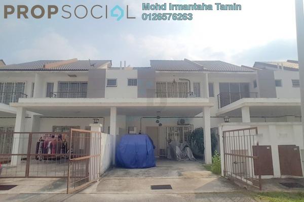 For Sale Terrace at Atria, Puncak Alam Leasehold Semi Furnished 4R/3B 420k