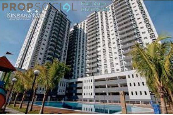 For Sale Condominium at Kinrara Mas, Bukit Jalil Freehold Unfurnished 3R/2B 455k