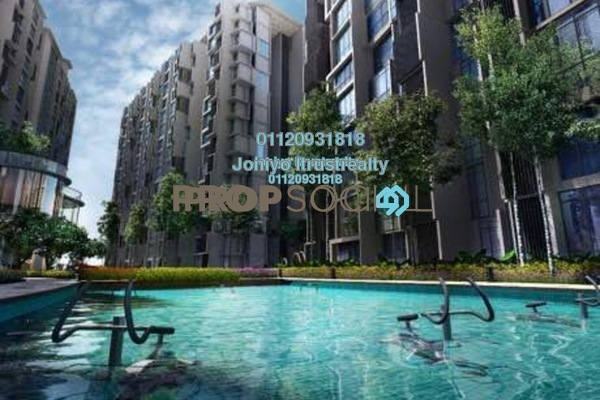 For Sale Condominium at Empire Subang, Subang Jaya Freehold Semi Furnished 2R/1B 520k