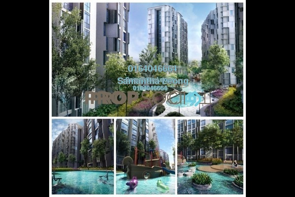 For Sale Condominium at H2O Residences, Ara Damansara Freehold Semi Furnished 2R/1B 560k