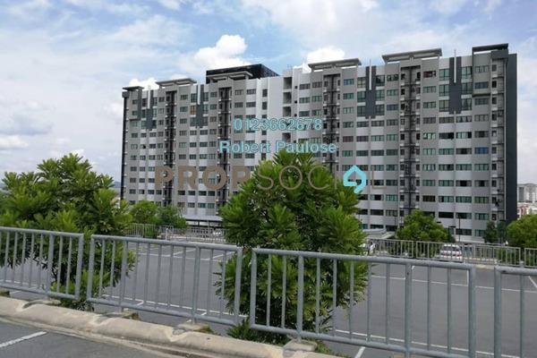 For Sale Apartment at Suria Ixora, Setia Alam Freehold Unfurnished 3R/2B 295k