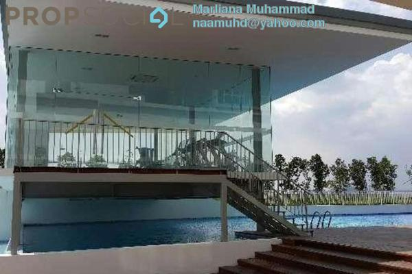 For Sale Condominium at The Wharf, Puchong Leasehold Semi Furnished 3R/2B 450k