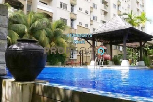 For Sale Apartment at Villa Pavilion, Seri Kembangan Freehold Fully Furnished 3R/2B 390k