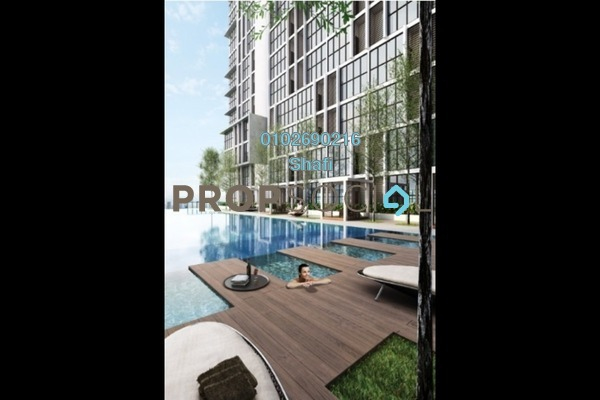 For Sale Apartment at 3Elements, Bandar Putra Permai Freehold Semi Furnished 3R/2B 580k