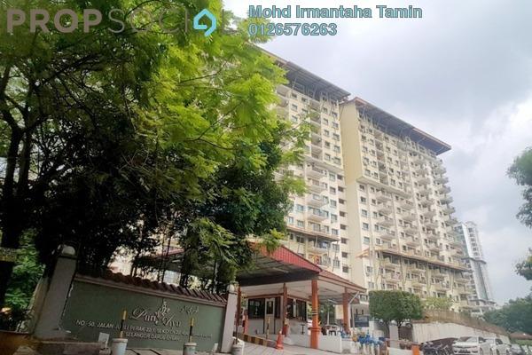 For Sale Condominium at Puri Aiyu, Shah Alam Freehold Semi Furnished 3R/2B 700k