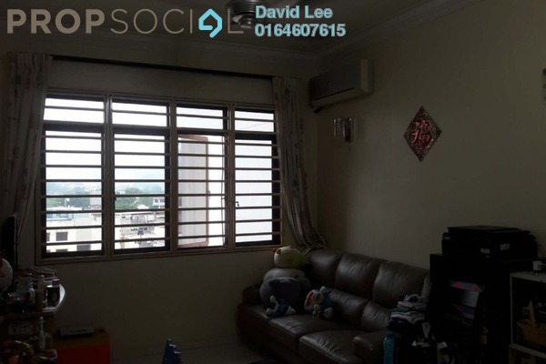 For Sale Condominium at Taman Meranti, Jelutong Freehold Semi Furnished 3R/2B 390k