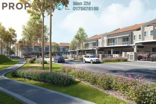 For Sale Terrace at Ixora 2 Residences, Bandar Seri Coalfields Freehold Unfurnished 4R/4B 687k