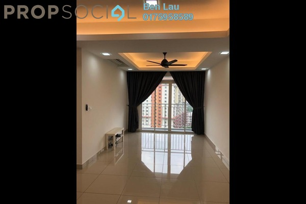 For Rent Condominium at V-Residensi 2, Shah Alam Freehold Semi Furnished 3R/3B 1.4k