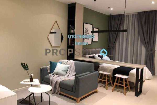For Rent Serviced Residence at Arcoris, Mont Kiara Freehold Fully Furnished 0R/1B 2.6k