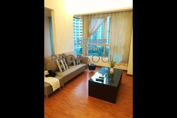 For Rent Serviced Residence at i-Zen Kiara I, Mont Kiara Freehold Fully Furnished 2R/2B 2.7k