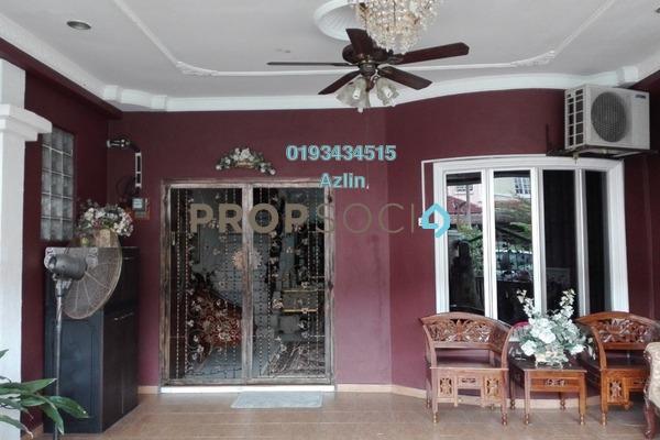 For Sale Terrace at Bandar Putera Klang, Klang Freehold Semi Furnished 4R/3B 450k