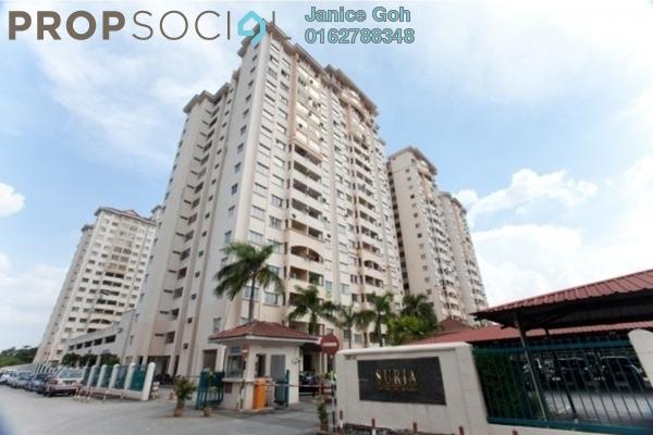 For Sale Condominium at Suria KiPark Damansara, Kepong Freehold Unfurnished 3R/2B 299k