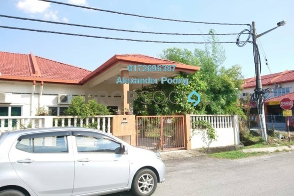 For Sale Terrace at Taman Sentosa, Klang Freehold Semi Furnished 3R/2B 385k