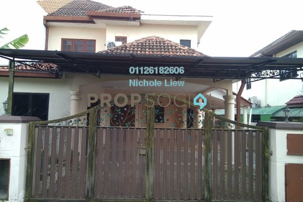 For Sale Semi-Detached at Suasana, Bandar Tun Hussein Onn Freehold Semi Furnished 5R/3B 853k