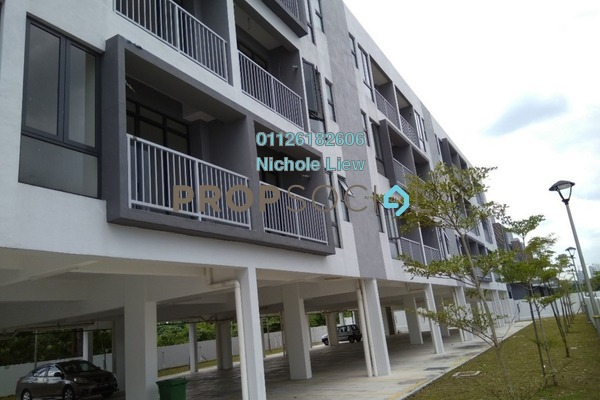 For Sale Townhouse at Spring Villa, Bandar Mahkota Cheras Freehold Unfurnished 3R/2B 346k