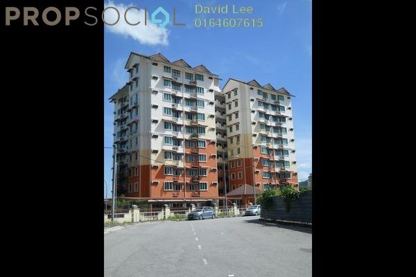 For Sale Apartment at Seri Nilam, Bayan Baru Freehold Semi Furnished 3R/2B 330k